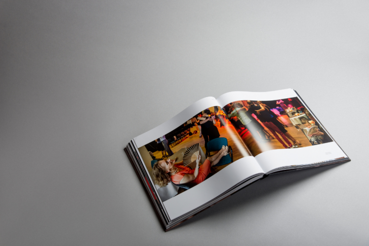 Edmundas Kolevaitis. Tango photography book printed by KOPA