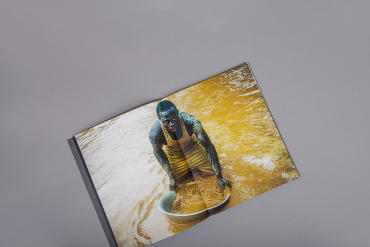 Open spine art photography book printed by KOPA printing