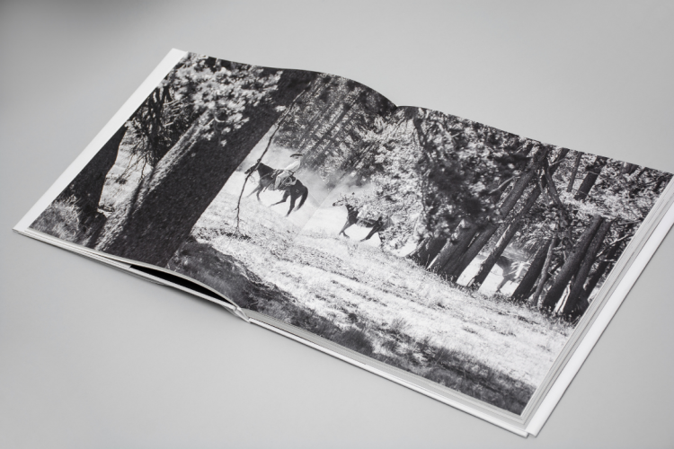 Yosemite People photography book printed by KOPA